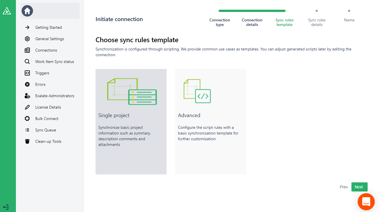 choose azure devops and guthub sync rules