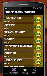 Scary Killer Clown Sounds screenshot 3