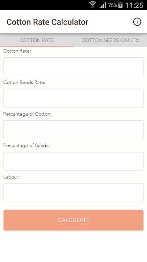 Cotton Rate Calculator