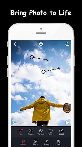 Movepic - Photo motion & Photo Animator 1.4.1 screenshots n 1