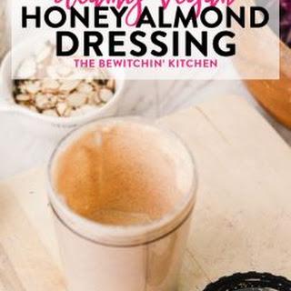 Creamy Vegan Almond Dressing.