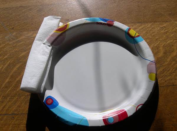 Paper Plate Napkin Holder Handy Serving Tip Recipe
