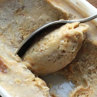 Banana Ice Cream with Salted Caramel Swirls Recipe
