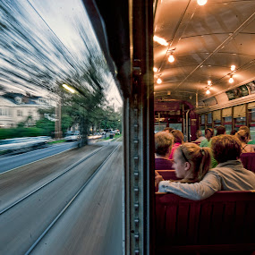New Orleans at Warp Speed by Don Chamblee - People Street & Candids