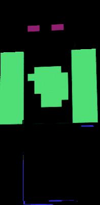 GREEN ENDERMAN