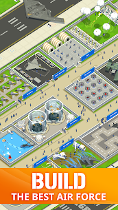 Idle Air Force Base Mod Apk Download For Android 1