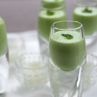 Chilled Soup Shooters.