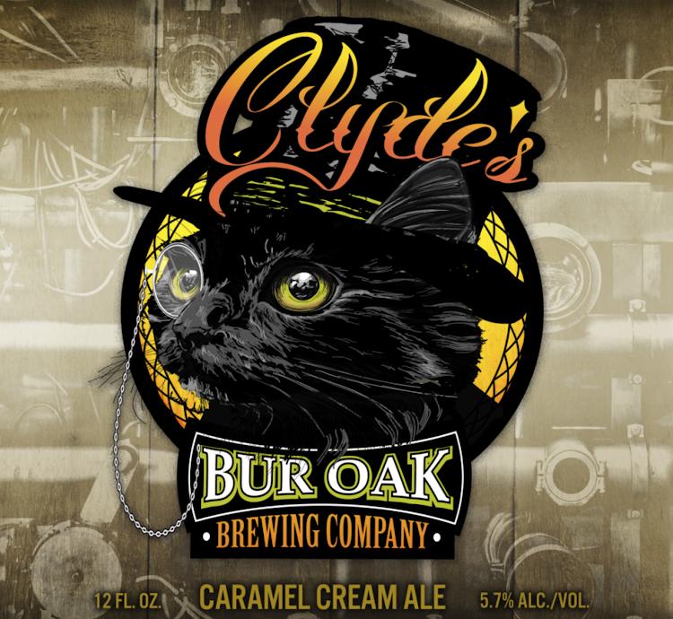 Logo of Bur Oak Clyde's Caramel Cream Ale