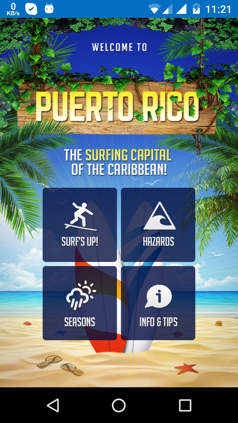 Surfing Puerto Rico- screenshot