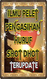 Ilmu Pelet Pengasihan Huruf Shot Dhot - náhled