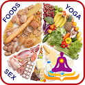 FOODS & YOGA FOR SEXUAL LIFE icon