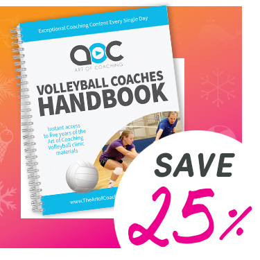 Save 25% on the Volleyball Coaches Planner