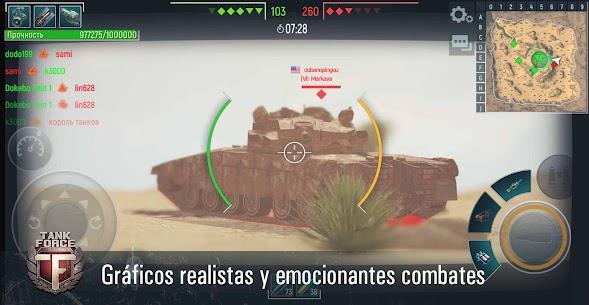 Tank Force: Juego de tanques en 3D 4
