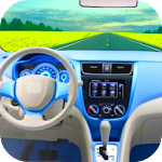 Driving Car Simulator Icon