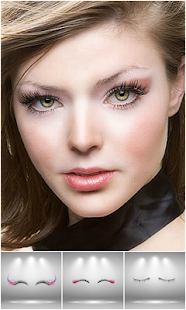 Eyelash Extensions Photo Editor - náhled