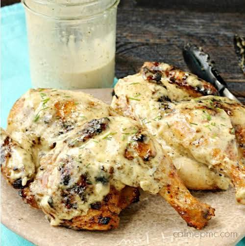 """Grilled Chicken Quarters """"Juicy and moist every time, this chicken is great..."""