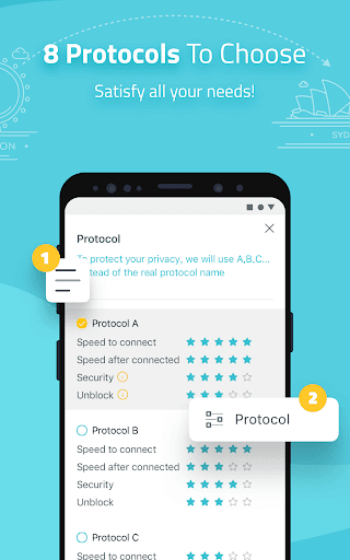 X-VPN - Free Unlimited VPN Proxy  screenshots 2