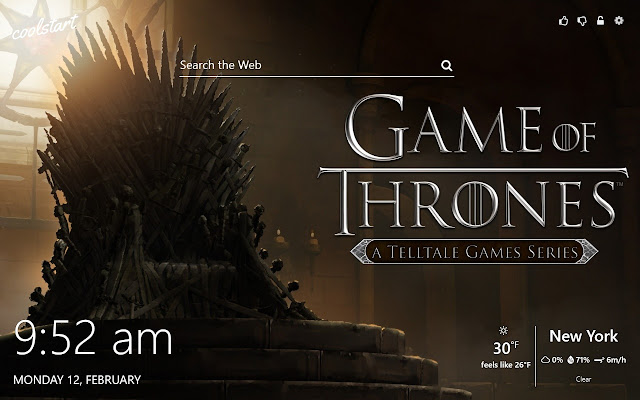 Game of Thrones HD Wallpapers New Tab Theme
