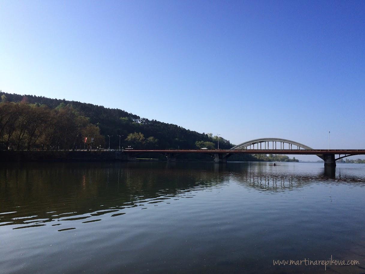 Main river bridge, Piešťany, Slovakia