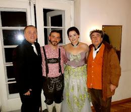 "Photo: ""RITA"" von Gaetano Donizetti am 5.2.2013 in Wien. Manfred Schiebel, Pablo Cameselle, Anna Ryan, Andrea Martin. Foto: Mané Manukyan."