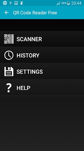 QR codes scanner
