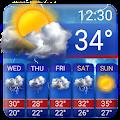 Free weather forecast app& widget ⛈  ⛈ download