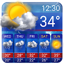 Free Weather Forecast App Widget 15.1.0.45510_45570