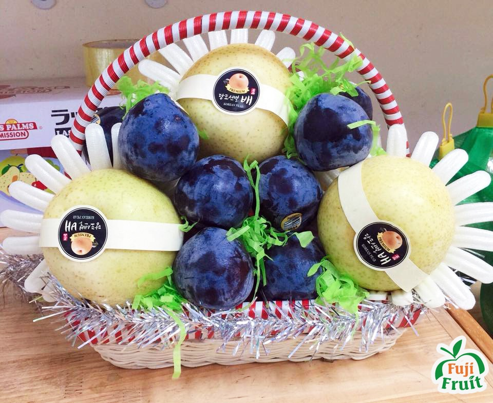 Mua giỏ trái cây đẹp giá rẻ ở đâu ?