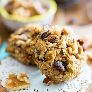 Healthier Oatmeal Cookies.