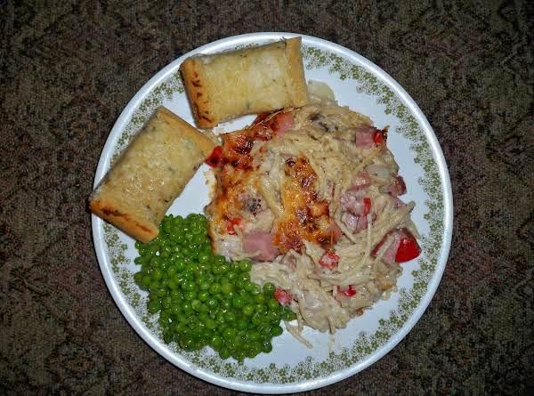 Ham And Swiss Cheese Spaghetti Bake-annette's Recipe