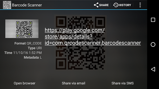 Barcode Scanner PRO v1.8
