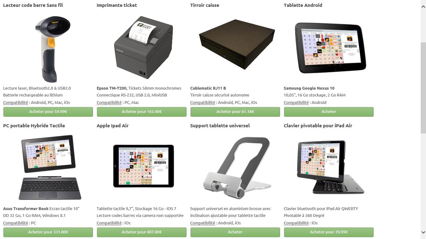 caisse enregistreuse gratuite applications android sur google play. Black Bedroom Furniture Sets. Home Design Ideas