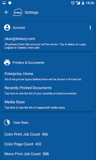 Breezy Print Service Plugin for PC
