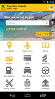 Screenshot of Cayman Islands Yellow Pages