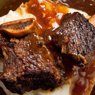 Pressure Cooker Cola-Braised Beef Short Ribs.