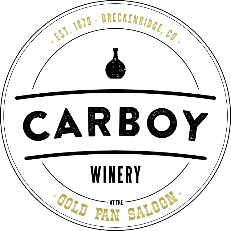 Logo for The Gold Pan Saloon & Carboy Winery