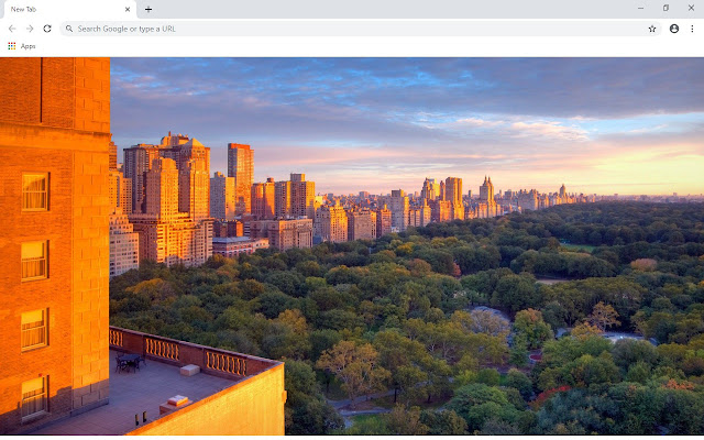 Central Park New Tab & Wallpapers Collection