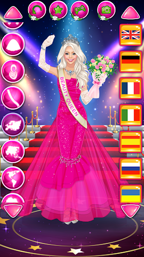 Beauty Queen Dress Up - Star Girl Fashion 1.0.9 screenshots 7