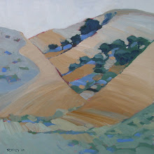 Photo: Black Diamond June, oil on canvas by Nancy Roberts, copyright 2014. Private collection.