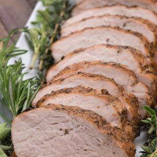 Garlic and Herb Grilled Pork Loin Recipe