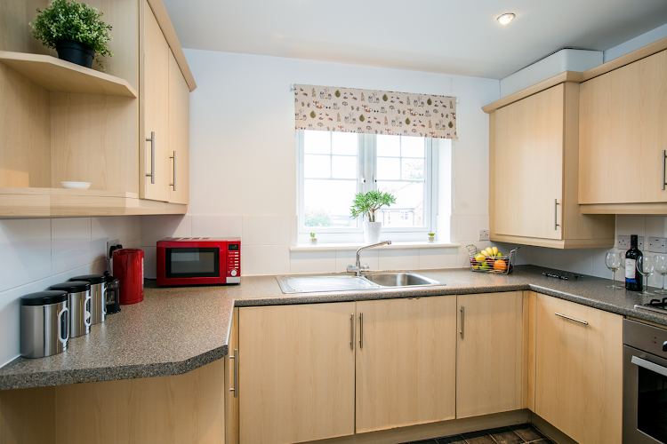 Fully equipped kitchen at Turberville Place