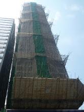 Photo: Klasické bambusové lešení