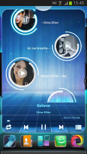 Next Music Widget screenshot 1