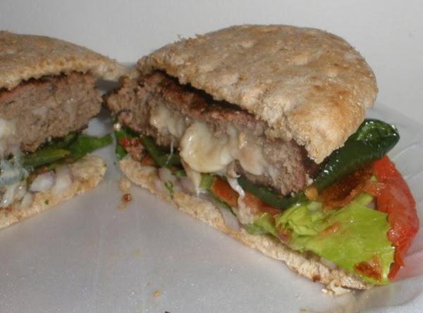 The I'm Stuffed Burger :) Recipe