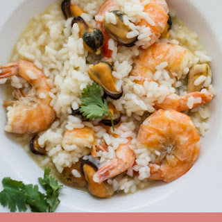Shrimp and Clam Risotto.
