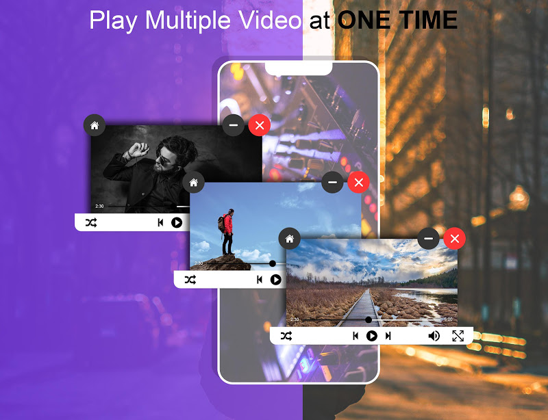 Video PopUp Player Screenshot 0