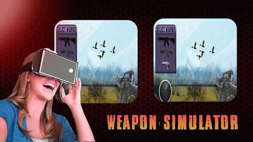 Virtual Real Weapon Simulator