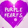 Purple Hearts wallpaper APK