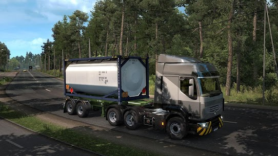 Real Euro Truck Simulator New 1.1 Mod Android Updated 2