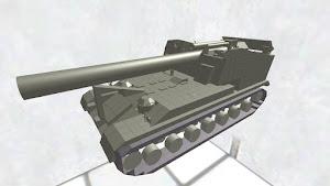 T92 240㎜自走榴弾砲 ディティールちょいアップ版